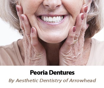 Complete and Partial Dentures Peoria by Aesthetic Dentistry of Arrowhead