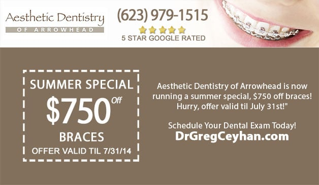 Summer Special for Braces with Dr. Greg Ceyhan