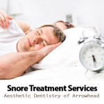 Snore Treatment Dental Services by Aesthetic Dentistry of Arrowhead