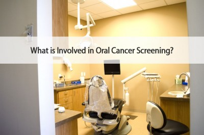 What's involved in an oral cancer screening?