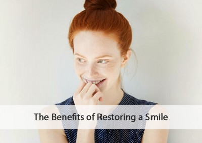 benefits of restoring a smile
