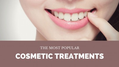 the most popular cosmetic treatments